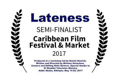 Lateness SEMI-FINALIST-CaribbeanFilmFestivalMarket-2017
